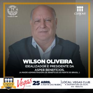 Confraria com Wilson Oliveira