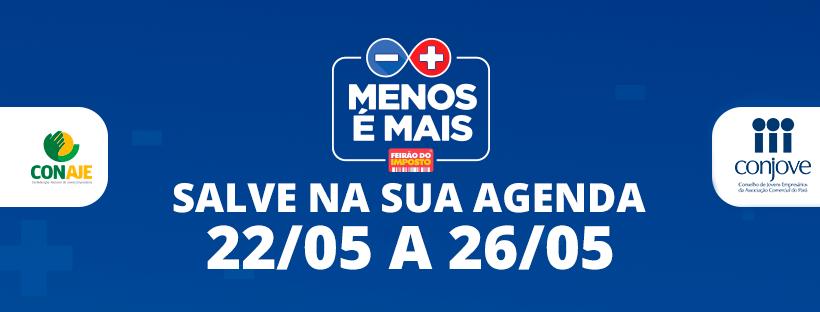CONJOVE REALIZA 17ª EDIÇÃO DO FEIRÃO DO IMPOSTO